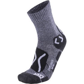 UYN Trekking Outdoor Expl**** Socks Men grey melange/pearl grey